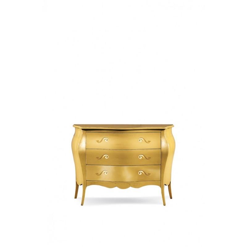 Comò foglia oro nuovo art. 1311 consegna gratuita   Offerte mobili 510,00€ 510,00€ 510,00€ 510,00€