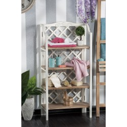 Mensoliera in legno con quattro ripiani nuova art.49188 consegna gratis-arredamentishop.it   Offerte mobili 80,00€ 80,00€ 8...