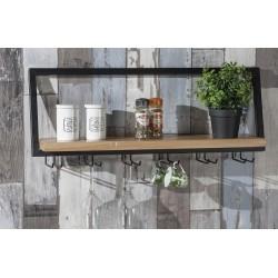Mensola da parete portabicchieri nuova art.52916 consegna gratis   Offerte mobili 48,00€ 48,00€ 48,00€ 48,00€