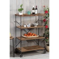 Carrello da cucina stile industriale nuovo art.45563 consegna gratis-arredamentishop.it   Offerte mobili 170,00€ 170,00€ 17...