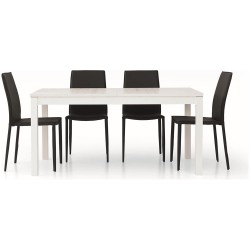 Tavolo bianco nuovo art.553 consegna gratuita,promozione black friday   Home 190,00€ 190,00€ 190,00€ 190,00€