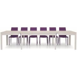 Tavolo allungabile bianco frassinato nuovo art.552 consegna gratuita-arredamentishop.it   Offerte mobili 380,00€ 380,00€ 38...