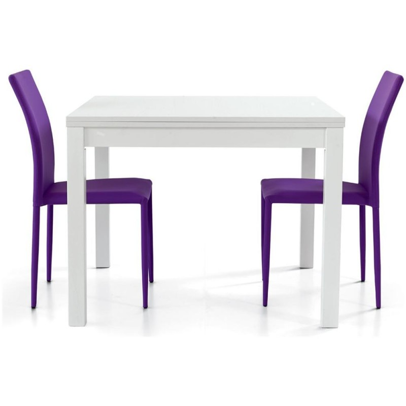 Tavolo bianco frassinato nuovo art.557 consegna gratuita,promozione   Offerte mobili 140,00€ 140,00€ 140,00€ 140,00€