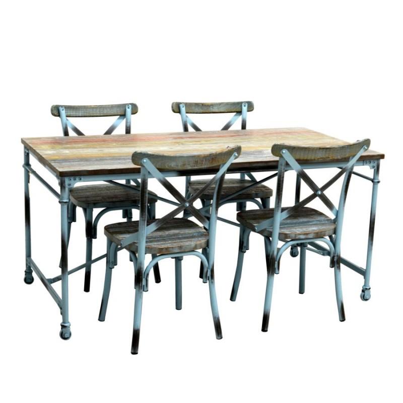 Tavolo industrial nuovo art.8037710000 consegna gratis   Home 350,00€ 350,00€ 350,00€ 350,00€