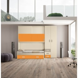 Cameretta Chiaravalle nuova art.TOPS03-arredamentishop.it   Offerte mobili 990,00€ 990,00€ 990,00€ 990,00€
