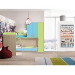 Cameretta ad angolo nuova art.TOPS09-arredamentishop.it   Offerte mobili 1.090,00€ 1.090,00€ 1.090,00€ 1.090,00€