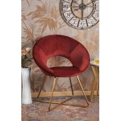 Poltrona in velluto rossa nuova art.54525 consegna gratuita,promozione   Home 100,00€ 100,00€ 100,00€ 100,00€