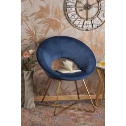 Poltroncina da camera in velluto blu nuova art.54524 consegna gratis-arredamentishop.it   Offerte mobili 110,00€ 110,00€ 11...