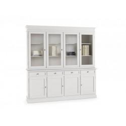 Vetrina cristalliera bianca nuova art.6039A-6038A consegna gratuita-arredamentishop.it   Offerte mobili 690,00€ 690,00€ 690...