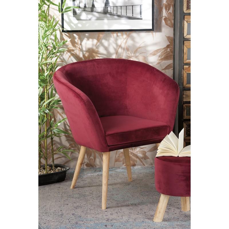 Poltrona in velluto rossa nuova art.53865 consegna gratis-arredamentishop.it   Home 100,00€ 100,00€ 100,00€ 100,00€