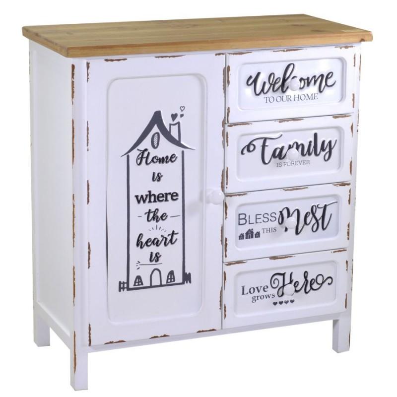 Credenza in legno shabby nuova art.8039660000 consegna gratis-arredamentishop.it   Home 230,00€ 230,00€ 230,00€ 230,00€