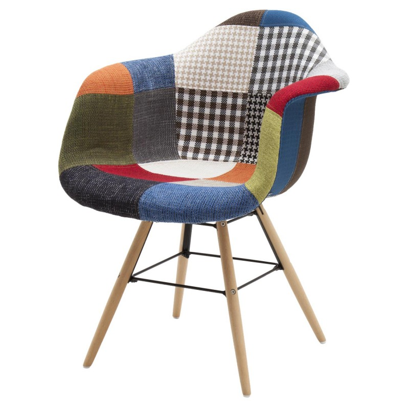Sedia Moderna Patchwork con Poggiabraccia art.LF662 consegna gratis-arredamentishop.it   Offerte mobili 80,00€ 80,00€ 80,00...