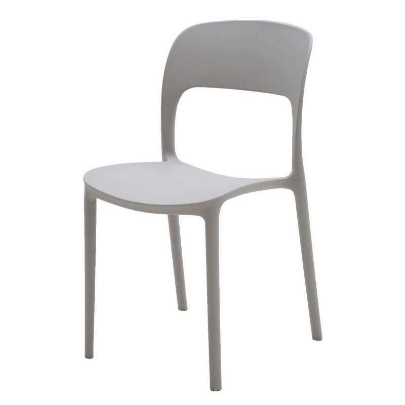 Sedie Moderne In Plastica.Sedia In Plastica Moderna Grigia Art Lf633 Consegna Gratis