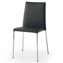 Sedia nera nuova art.686 CONSEGNA GRATIS   Offerte mobili 65,00€ 65,00€ 65,00€ 65,00€