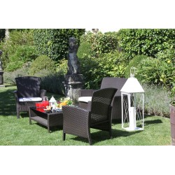 Salotto giardino amalia polyrattan nuovo art.6434740000 consegna gratis-arredamentishop.it   Offerte mobili 320,00€ 320,00€...