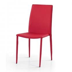 Sedia rossa nuova art.614 CONSEGNA GRATIS   Offerte mobili 45,00€ 45,00€ 45,00€ 45,00€