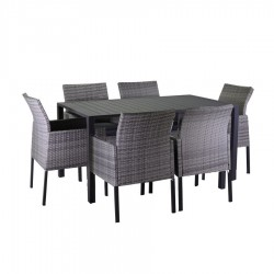 Completo tavolo e poltrone da giardino nuovo art.6451770000 consegna gratuita-arredamentishop.it   Offerte mobili 850,00€ 85...