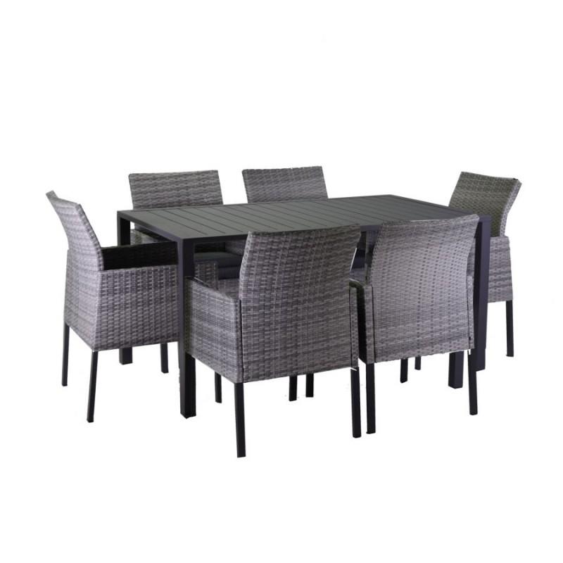 Offerte Tavoli Da Giardino.Completo Tavolo E Poltrone Da Giardino Nuovo Art 6451770000