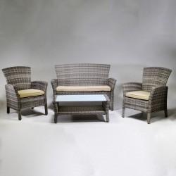 Salotto in polyrattan da giardino nuovo art.6443700000 consegna gratis-arredamentishop.it   Home 320,00€ 320,00€ 320,00€ 3...