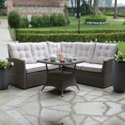 Salotto divano da giardino in polyrattan nuovo art.6449060000 consegna gratuita-arredamentishop.it   Offerte mobili 1.180,00...