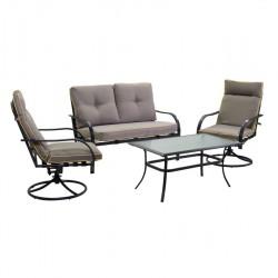 Mobili da giardino,salotto in metallo antracite nuovo art.6449660000 consegna gratis-arredamentishop.it   Offerte mobili 440,...