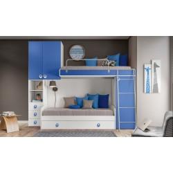 Cameretta soppalco per bambini nuova art.S101.BFR.BLU.DM consegna gratis-arredamentishop.it   Home 550,00€ 550,00€ 550,00€...
