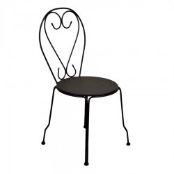 Sedia in metallo da giardino old antracite nuova art. 6449540000 consegna gratuita-arredamentishop.it   Home 50,00€ 50,00€ ...