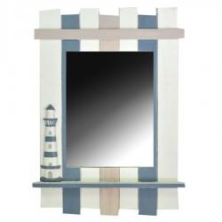 Specchio con cornice a righe mare nuovo art. 1857790000 consegna gratuita-arredamentishop.it   Offerte mobili 45,00€ 45,00€...