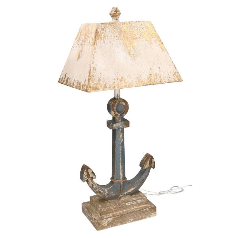 Lampada mare nuova ancora in legno blu art. 3720540000 consegna gratuita-arredamentishop.it   Offerte mobili 95,00€ 95,00€ ...