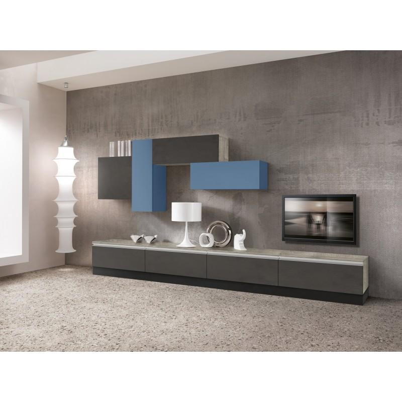 Parete attrezzata Valentini nuova art.LIVING28 - arredamentishop.it   Offerte mobili 1.145,00€ 1.145,00€ 1.145,00€ 1.145,00€