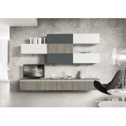 Parete attrezzata nuova art.LIVING30 - arredamentishop.it   Offerte mobili 1.165,00€ 1.165,00€ 1.165,00€ 1.165,00€