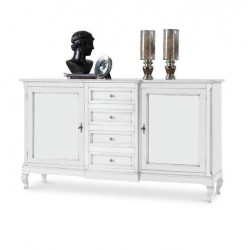 Credenza bianca 200 cm nuova art.1422 consegna gratuita-arredamentishop.it   Offerte mobili 550,00€ 550,00€ 550,00€ 550,00€