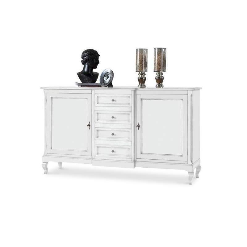 Credenza bianca shabby nuova art.1422 consegna gratuita-arredamentishop.it   Offerte mobili 520,00€ 520,00€ 520,00€ 520,00€