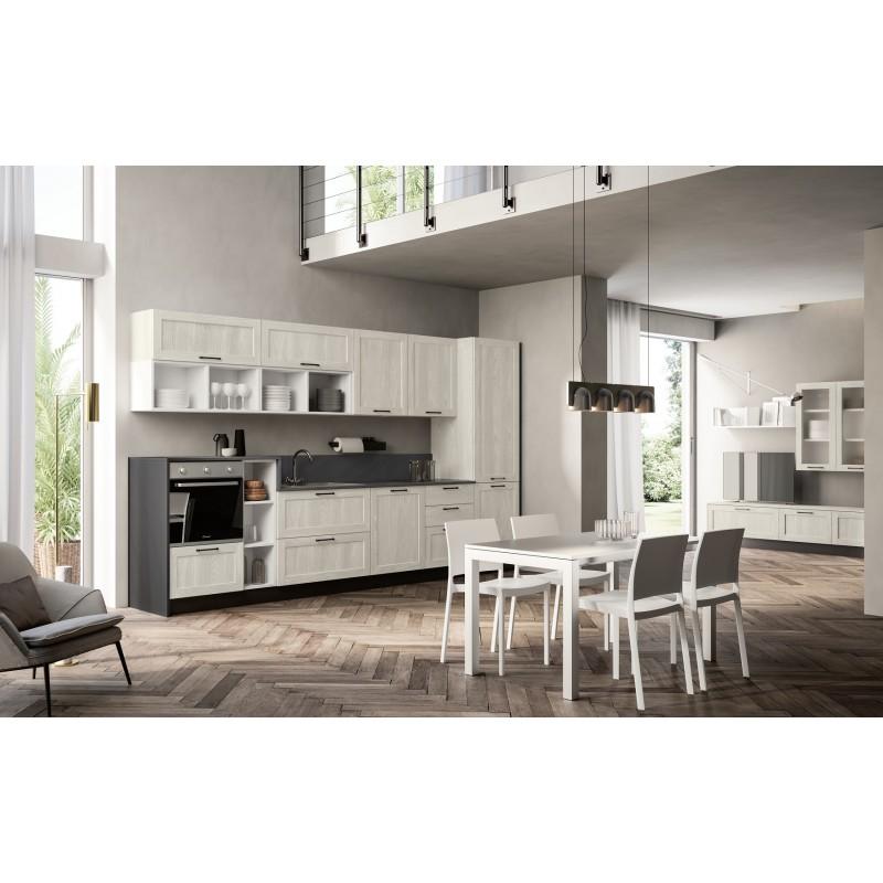 Cucina con soggiorno nuova art.Cucina25-arredamentishop.it