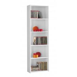 Libreria bianca economica nuova art.96L01B consegna gratuita-arredamentishop.it   Offerte mobili 55,00€ 55,00€ 55,00€ 55,00€