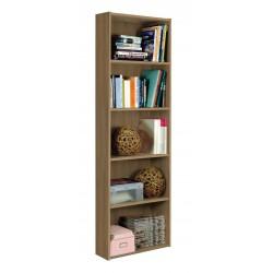 Libreria noce economica nuova art.96L01P consegna gratuita-arredamentishop.it   Offerte mobili 55,00€ 55,00€ 55,00€ 55,00€