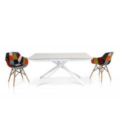 Tavolo in vetro bianco nuovo art.950 consegna gratuita-arredamentishop.it   Offerte mobili 480,00€ 480,00€ 480,00€ 480,00€