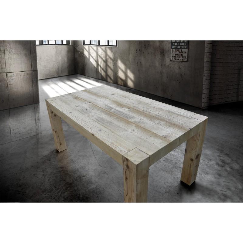 Offerte Tavoli Allungabili Legno.Tavolo In Legno Vecchio 140x90 Allungabile Nuovo Art 786 Consegna