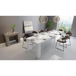 Tavolo allungabile bianco laccato nuovo art.202M13BL consegna gratuita-arredamentishop.it   Offerte mobili 390,00€ 390,00€ ...
