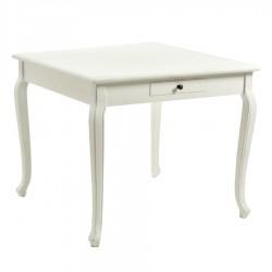 Tavolo quadrato bianco nuovo art.8029940000 consegna gratuita-arredamentishop.it   Offerte mobili 180,00€ 180,00€ 180,00€ ...