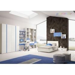 Cameretta Firenze nuova art.GT4045-arredamentishop.it   Offerte mobili 1.990,00€ 1.990,00€ 1.990,00€ 1.990,00€