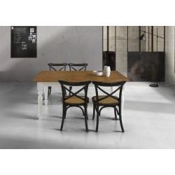 Tavolo in rovere allungabile nuovo art.T715 cm 160x85 consegna gratuita-arredamentishop.it  Tempesta Offerte mobili 430,00€ ...