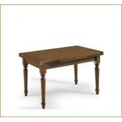 Tavolo con gambe tornite cm 180x90 allungabile nuovo art.13T180x90 consegna gratuita-arredamentishop.it   Offerte mobili 220,...