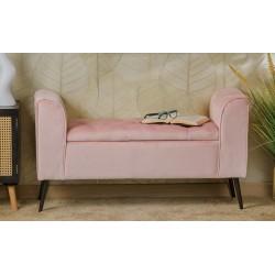 Panca in velluto rosa con contenitore nuova art.60968 consegna gratuita-arredamentishop.it   Offerte mobili 145,00€ 145,00€...