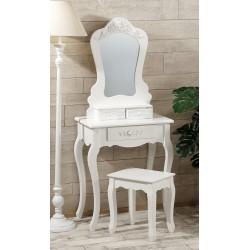 Petineuse bianca in legno con sgabello nuova art.42173 consegna gratis-arredamentishop.it   Home 140,00€ 140,00€ 140,00€ 1...