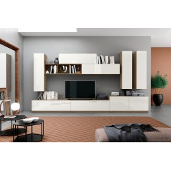 Soggiorno componibile nuovo art.MAX03-arredamentishop.it   Offerte mobili 620,00€ 620,00€ 620,00€ 620,00€