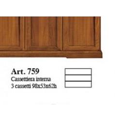 Cassettiera interna per armadio art.758 nuova art.759 consegna gratuita-arredamentishop.it   Offerte mobili 160,00€ 160,00€...