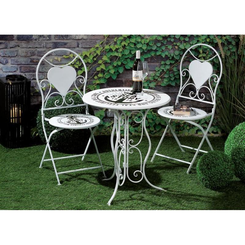 Sedie Da Esterno Offerte.Tavolino Con Sedie Da Giardino Nuovo Art 55035 Consegna Gratuita