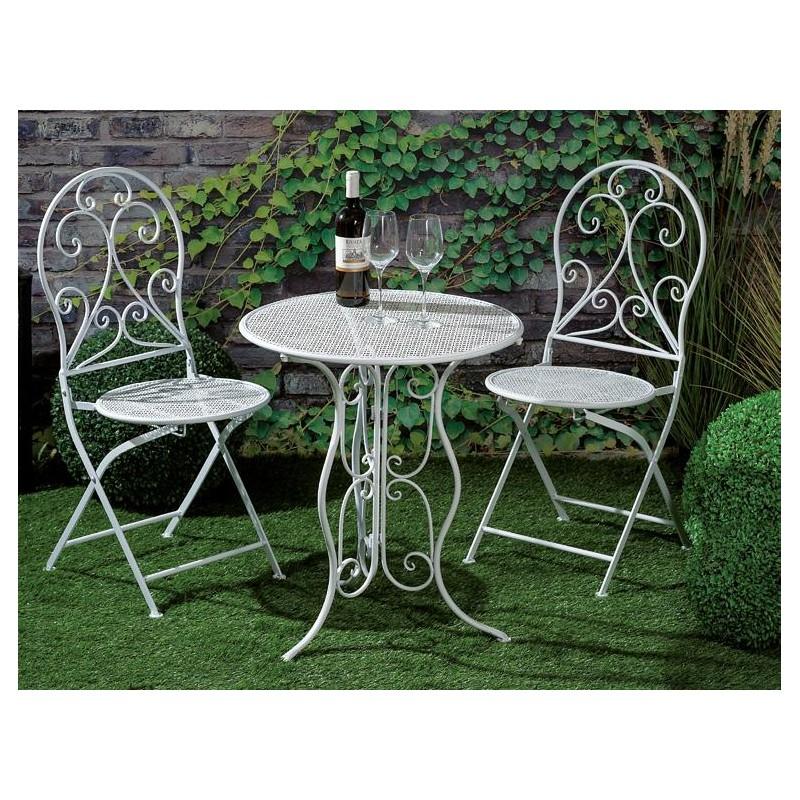 Offerte Tavoli Da Giardino In Ferro.Tavolo Ferro Battuto Giardino Con Sedie Nuovo Art 55029 Consegna