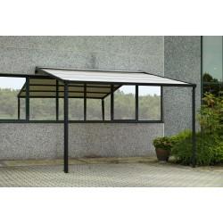 Pergola tenda elettrica in alluminio nera nuova art.7406700000 consegna gratuita-arredamentishop.it  Vacchetti Offerte mobili...